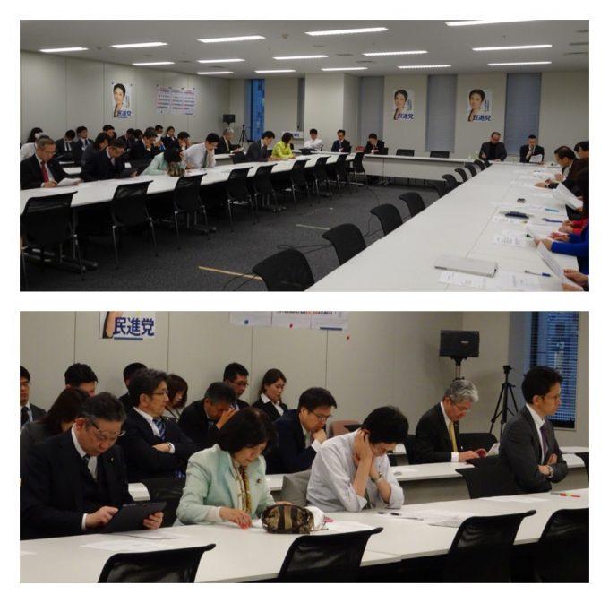 第4次産業革命小委員会と、尊厳ある生活保障総合調査会