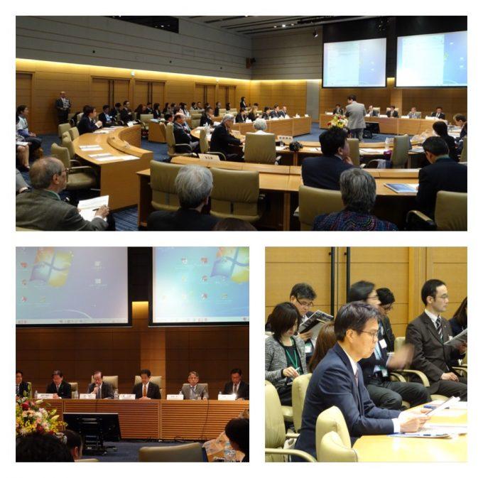 人口と食品安全保障会議の開会式